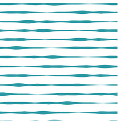 Horizontal teal lines seamless background vector