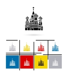 St basil cathedral icon vector