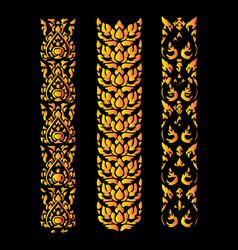 Thai design 13 vector