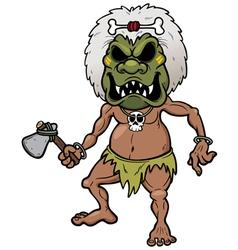 Tribal warrior vector