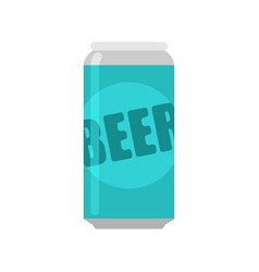 bank beer isolated aluminum can alcohol vector image