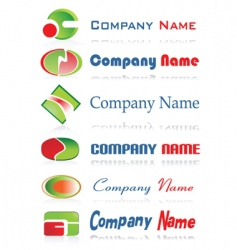 business labels vector image
