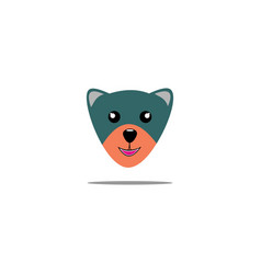 Cute little bear vector