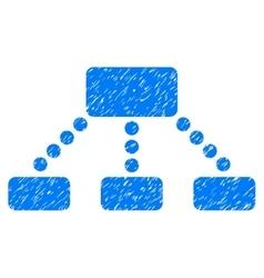 Hierarchy Grainy Texture Icon vector image