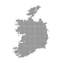 map with dot vector image