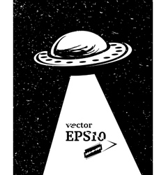Monochrome UFO invasion vector