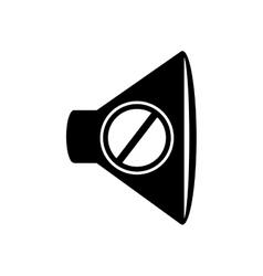 speaker device icon vector image