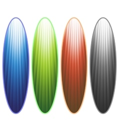 Surfingboards vector image