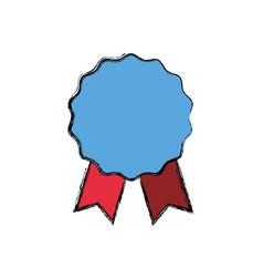 award ribbon empty vector image vector image