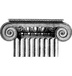 Greek column vector