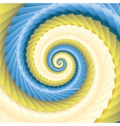 color abstract spirals vector image vector image