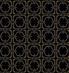 Seamless Art Deco Style Pattern vector image vector image