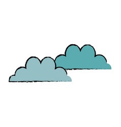 Cloud climate weather sky image vector
