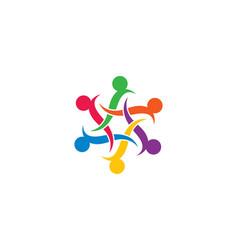community care symbol design vector image