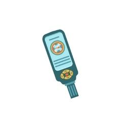 Digital Console For Scuba Diving Gauges vector