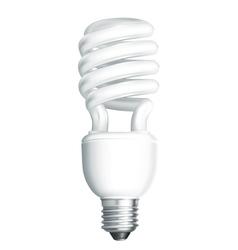 Energy saving lamp vector image