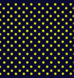Gold balls pattern vector