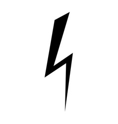 lightning icon design element logo element vector image