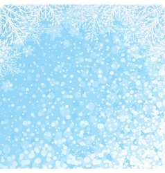 Snowflakes Backdrop vector image