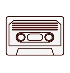 Video cassette icon image vector
