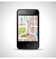 Smartphone Navigation vector image
