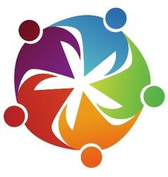 Union symbol cartoon vector image