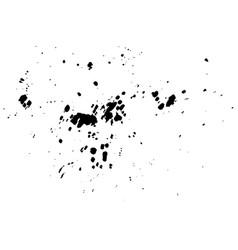 abstract black ink splash watercolor vector image