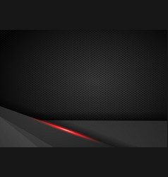 abstract red and black contrast technical vector image