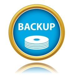 backup icon vector image