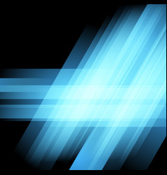 bright blue club abstract modern layout vector image