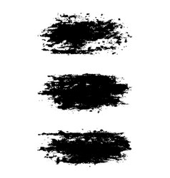 brush stroke collection vector image