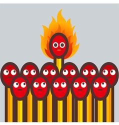 Matches Fire vector