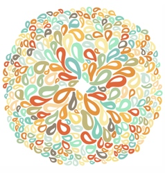 Moroccan tiles ornaments in different colors vector