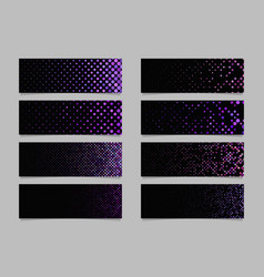 Abstract dot pattern banner background template vector