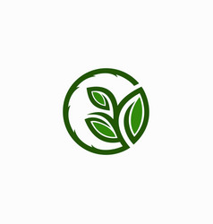 agriculture and building logo ilustration vector image