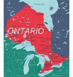 Alberta state editable map canada vector
