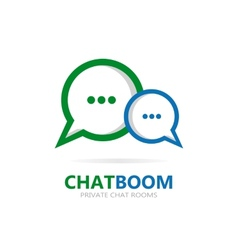 chat icon or logo vector image