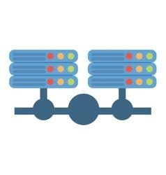 Data server computer storage system vector