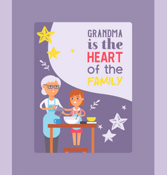 Family time poster generation vector