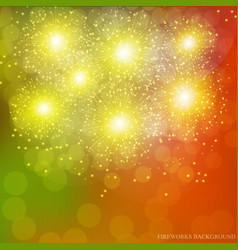 Festive gold background vector