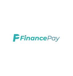 Fp finance pay logo design vector