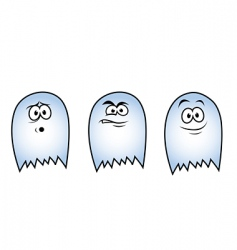 Three ghosts vector