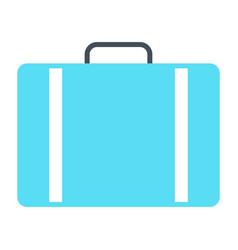 Travel bag icon simple minimal 96x96 pictogram vector