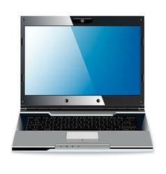 vintage laptop vector image