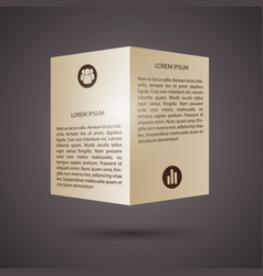 Web abstract paper business infographics vector