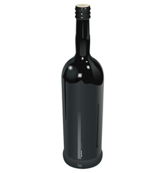 wine red vector image
