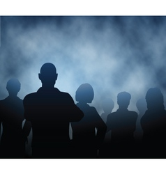 Mist people vector image vector image