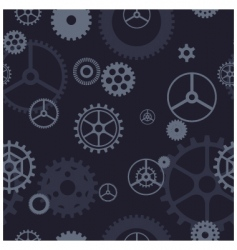 gear pattern vector image vector image