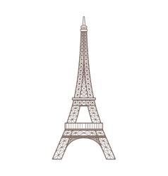 paris city design vector image vector image
