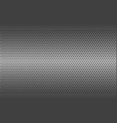 perforated metal texture aluminium grating vector image